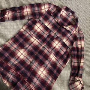Charlotte Russe plaid shirt